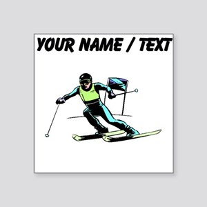 Custom Slalom Racer Sticker